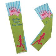 Printed Arm Sleeves She Ran Happily Ever After