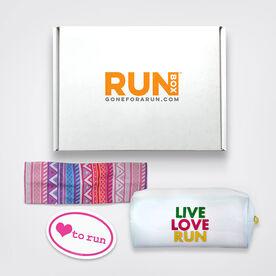 RUNBOX #1 - RUNBOX Gift Set - Live Love Run
