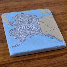 Alaska State Runner Stone Coaster