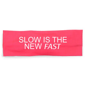 RunTechnology Tempo Performance Headband - Slow Is The New Fast