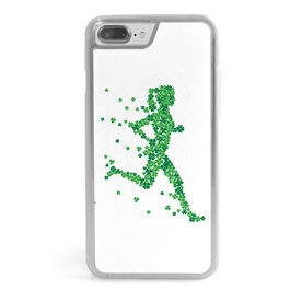 Running iPhone® Case - Clover Girl