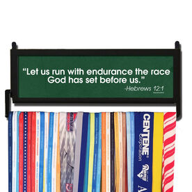 RunnersWALL Let Us Run with Endurance Medal Display