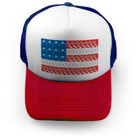 Triathlon Trucker Hat - Flag With Elements