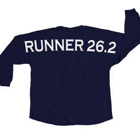 Running Statement Jersey Shirt Runner 26.2