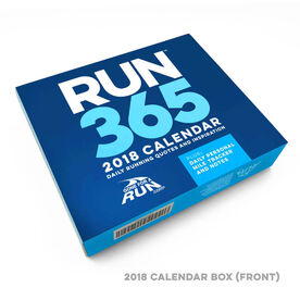 Runner's 2018 Daily Desk Calendar