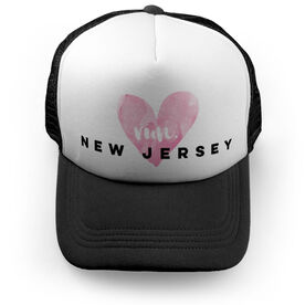 Running Trucker Hat Run New Jersey