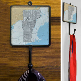 Stone Medal Hook Vermont State Runner Map