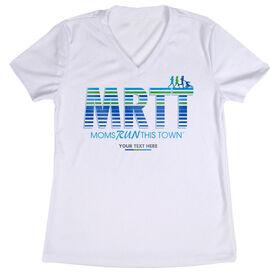 Women's Running Short Sleeve Tech Tee - Moms Run This Town MRTT