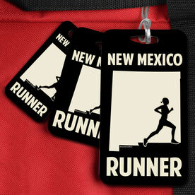 Bag/Luggage Tag New Mexico State Runner Female