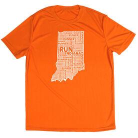 Men's Running Short Sleeve Tech Tee Indiana State Runner