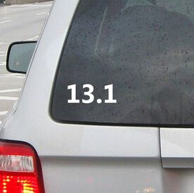 13.1 Vinyl RUNNERDecal