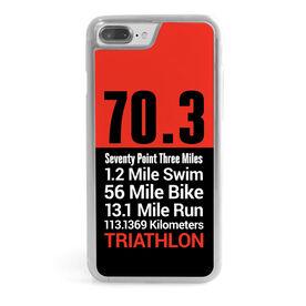 Triathlon iPhone® Case - 70.3 Math Miles