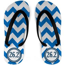 Running Flip Flops Zig Zag 26.2