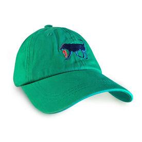 Running Dog Hat - Seafoam Green