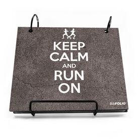 BibFOLIO® Race Bib Album - Keep Calm And Run On