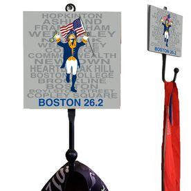 Medal Hook Boston Patriot