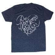 Men's/Unisex Lifestyle Runners Tee - One Awesome Mother Runner