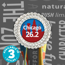 Race Hook Tag Chicago 26.2