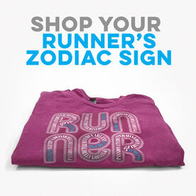 Click to Shop all Running Zodiac Everyday Tees