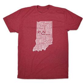 Men's Lifestyle Runners Tee Indiana State Runner