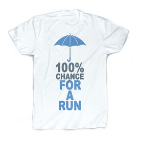 Running Vintage Tee - 100% Chance For A Run