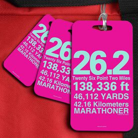Running Bag/Luggage Tag 26.2 Math Miles