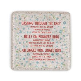 Running Stone Coaster Jingle Run