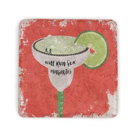 Running Stone Coaster Will Run For Margaritas