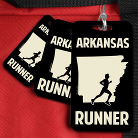 Bag/Luggage Tag Arkansas State Runner Male