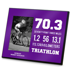 Triathlon Photo Frame 70.3 Math Miles