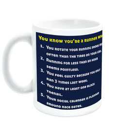 Running Ceramic Mug You Know You're A Runner When