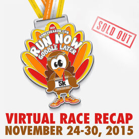Run Now Gobble Later Virtual 5K