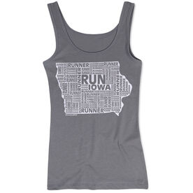 Women's Athletic Tank Top Iowa State Runner