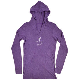 Women's Running Lightweight Performance Hoodie Run Girl