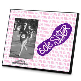 Running Photo Frame Sole Sister Run Pattern