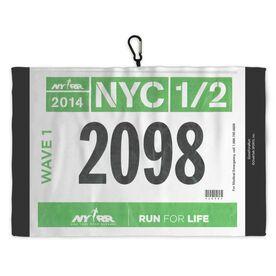 Running Workout/Golf Towel Race Bib