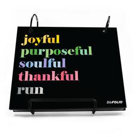 BibFOLIO® Race Bib Album - Run Mantra
