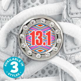 Shoe Lace Charm Diamond Pattern 13.1