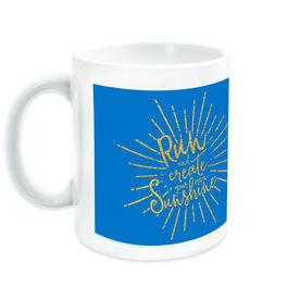 Running Ceramic Mug Run With Sunshine