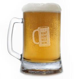 Run Done Beer Now 15oz Beer Mug
