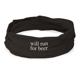 RokBAND Multi-Functional Headband - Will Run For Beer