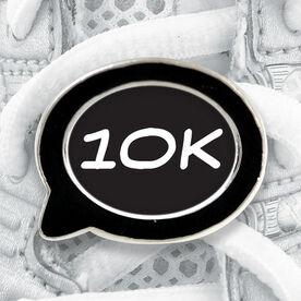 Talk Bubble Shoe Lace Charm 10K