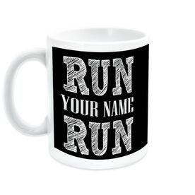 Running Ceramic Mug Run Your Name Run