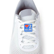 Love To Run - LaceBLING Shoe Lace Charm