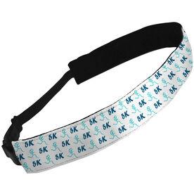 Julibands No-Slip Headbands 5K Run Girl Stick Figure