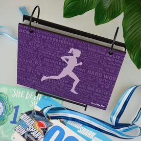 BibFOLIO® Race Bib Album - Running Inspiration Female