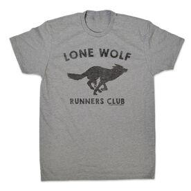 Men's Lifestyle Runner's Tee Run Club Lone Wolf
