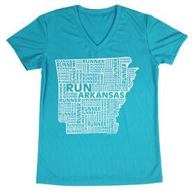 Women's Running Short Sleeve Tech Tee Arkansas State Runner