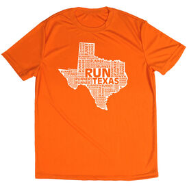 Men's Running Short Sleeve Tech Tee Texas State Runner