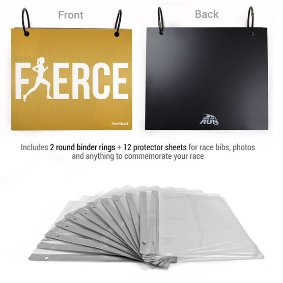 BibFOLIO® Race Bib Album - Fierce
